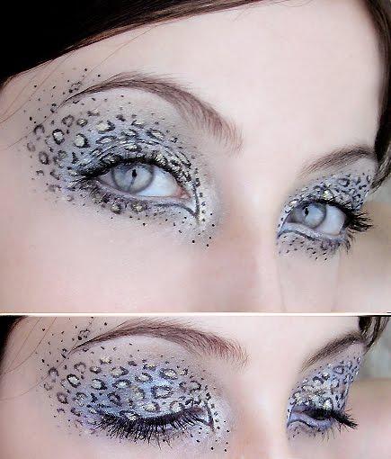Maquillaje de leopardo para mujer - Imagui