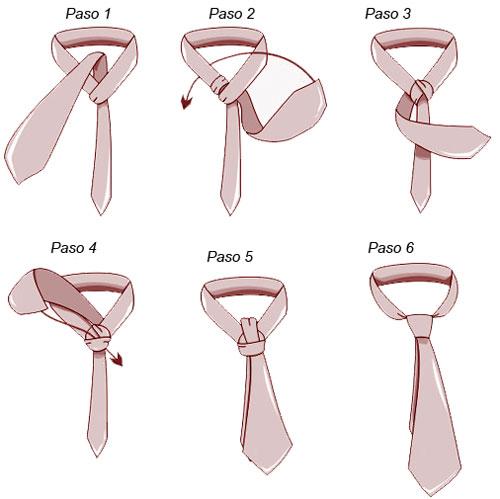 Formas de usar los pa uelos y como hacer el nudo de la for Nudo de corbata windsor