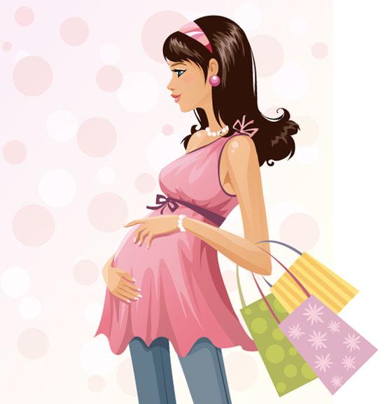 imagen de una mujer embarazada: