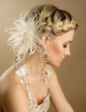 Peinados en trenzas para novias