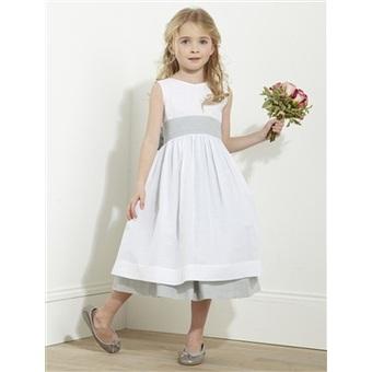 Vestidos de fiesta color blanco para ninas