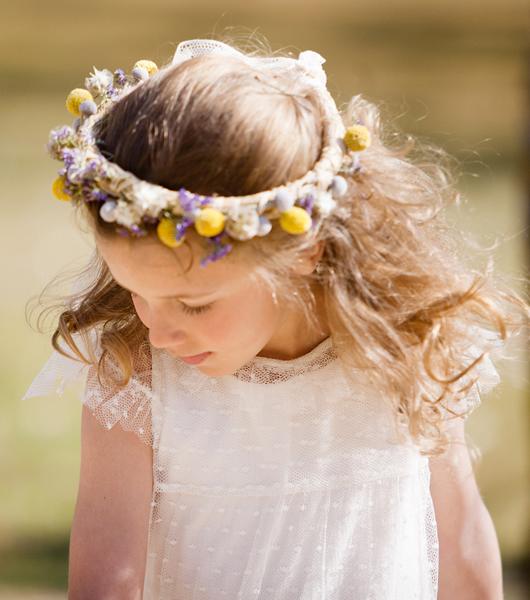 Miradas ganadoras con peinados niñas boda Fotos de cortes de pelo tutoriales - Peinados para niñas | PeloTendencias