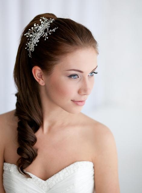 Tendencias propuestas en peinados de novias para 2013 - Peinados de novia con flequillo ...