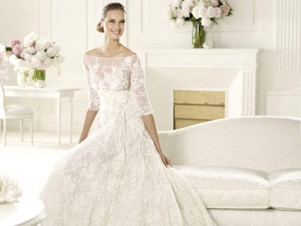 vestidos de novia de encaje chantilly – vestidos de boda