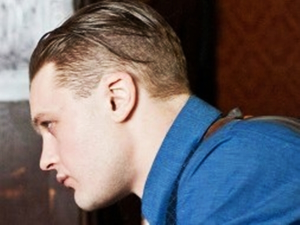 Peinados Para Atras Hombres Corte De Cabello Muy Llamativo Que Se