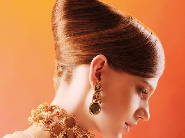Peinados y maquillaje para año nuevo 2013