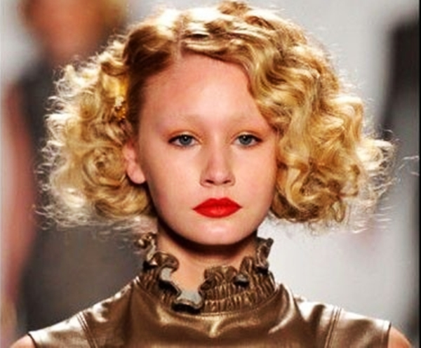 Ideas de peinados rizados con pelo corto para fin de a o - Peinados cortos y rizados ...