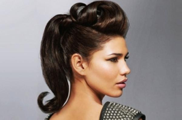 peinados recogidos para chicas jvenes