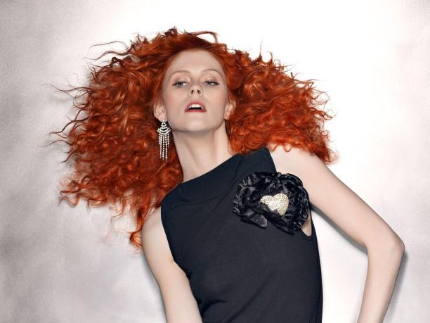 Rojos para los cabellos del invierno-2013