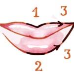 Para aprender a delinear los labios sigue estos pasos.