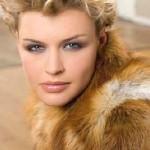 Sofisticado corte de pelo corto peinado hacia atrás para 2013