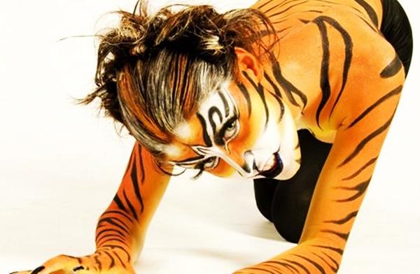 maquillaje-tigre-