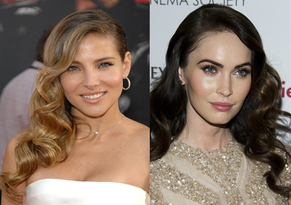 Megan-Fox-rostro-ovalado-peinados-rostro-diamante-Elsa-Pataky